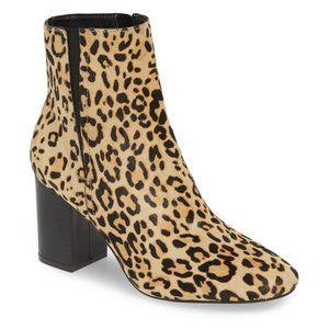 "Halogen ""Abbi"" Block heel Ankle Boot 6 cheetah"